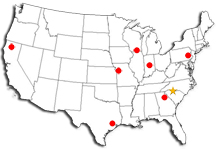Toshiba Warehouse Locations